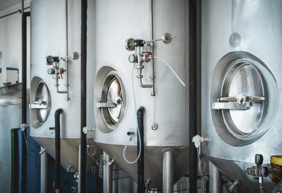 Fermenting tanks